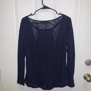 Loose Lounge Top with open back